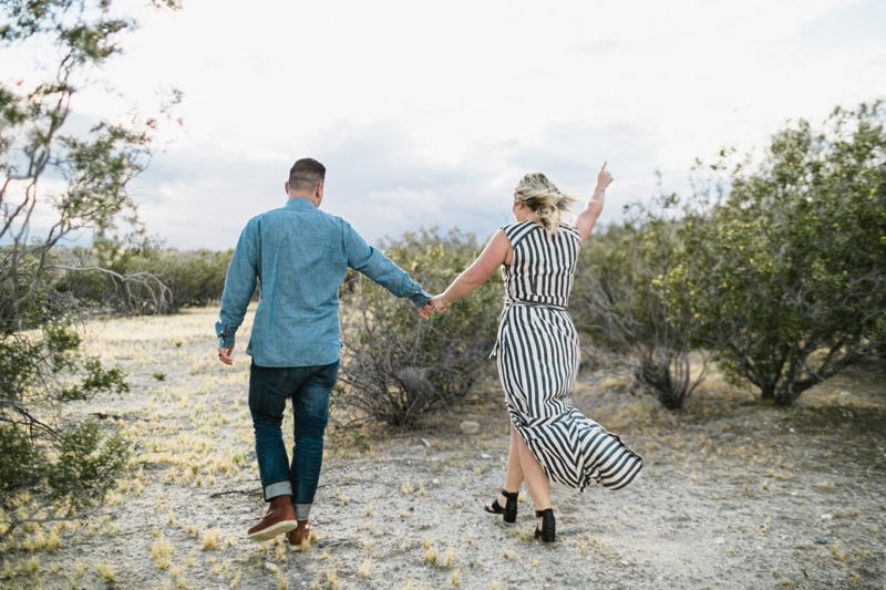 palm springs engagement photos cabazon dinosaur engagement moorten botanical garden wedding - 15